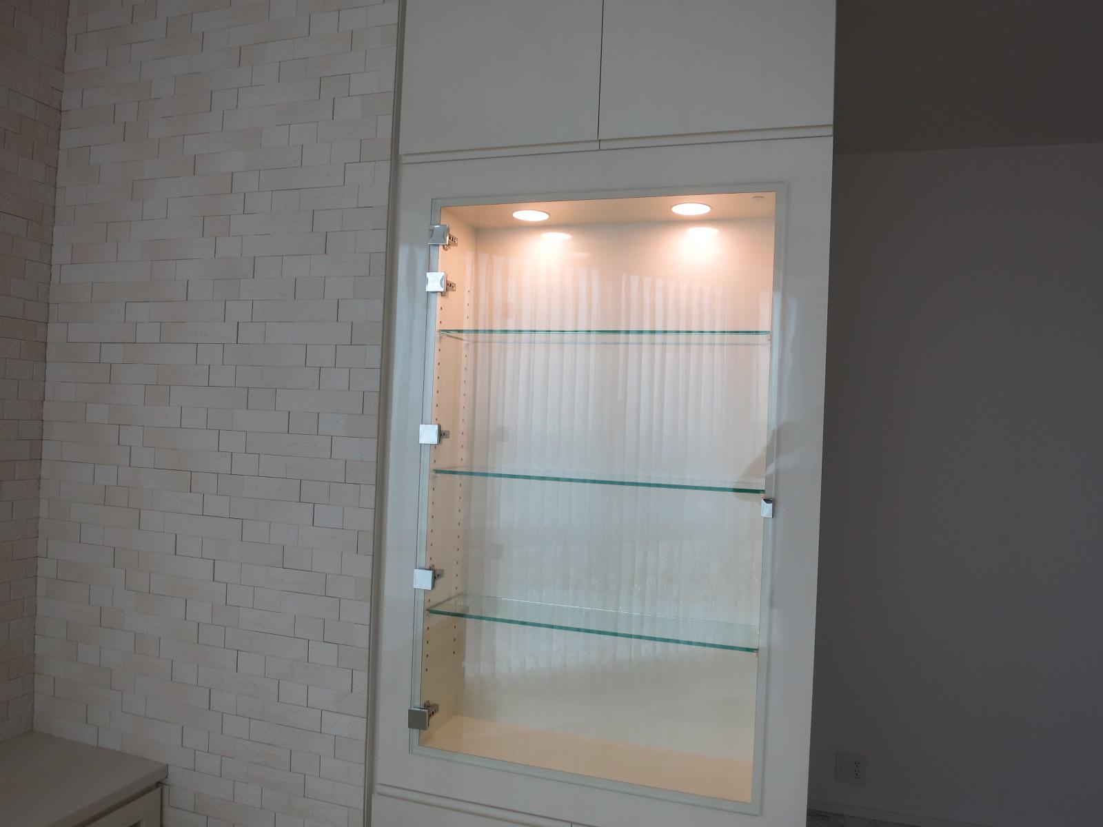 オーダー家具の実例|壁面飾り棚とtvボード「富久クロスコンフォートタワー」|マンションオプション Com